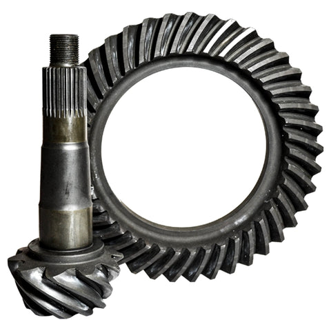 GM 8.875 Inch 12 Bolt 12T 4.56 Thick Ratio Ring And Pinion Nitro Gear and Axle