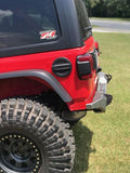 Jeep JL Rear Bumper Crusher With Spare Tire Cut Out