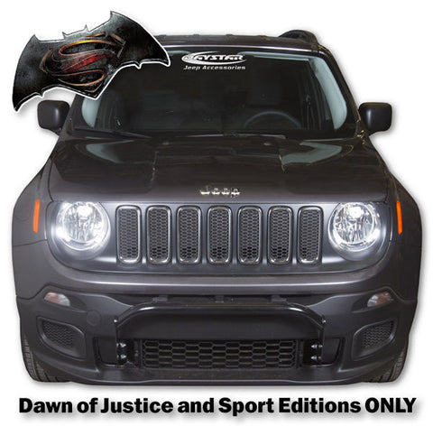 "KJ50006BK  Renegade Bull Bar for the ""Dawn of Justice and Sport Editions"""
