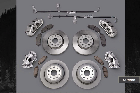 Mopar Wrangler JL Big Brake Kit 77072434