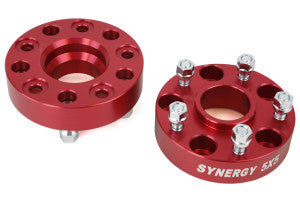 "Synergy Hub Centric Wheel Spacers JEEP YJ, TJ, ZJ, XJ   1.25""	1/2-20 UNF"