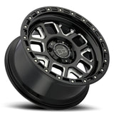 BLACK RHINO ALPINE 20x9.5 5/127 ET-18 CB71.6 GLOSS BLACK W/MILLED SPOKES