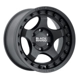 BLACK RHINO BANTAM 18x9.0 5/127 ET-12 CB71.6 TEXTURED BLACK