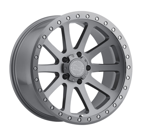 BLACK RHINO MINT 17x9.0 5/127 ET-12 CB71.6 GLOSS GRAPHITE
