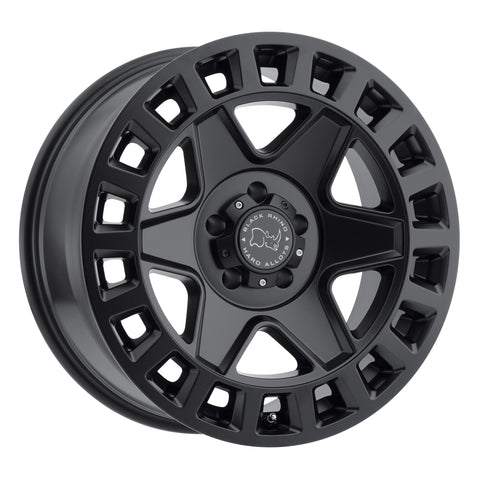BLACK RHINO YORK 17x8.0 5/114.3 ET35 CB76.1 MATTE BLACK
