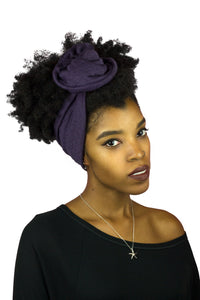 Purple Wire Headband