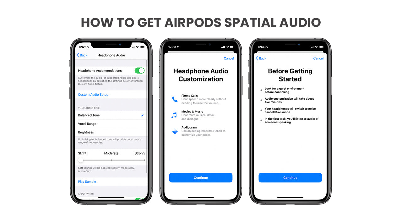 How to get the AirPods Pro spatial audio