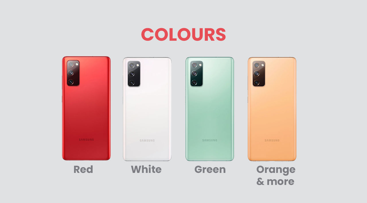 Design and Colours Samsung Galaxy S20 Fan Edition
