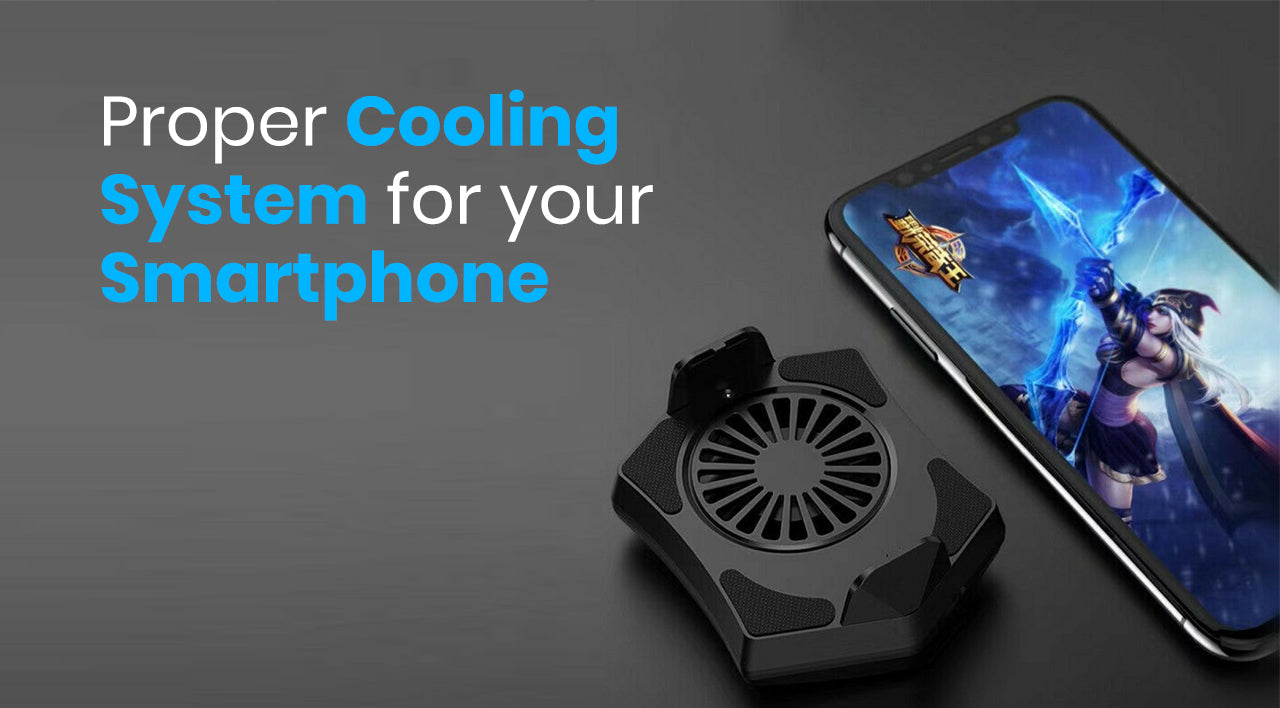 Cooling System for gaming smartphone