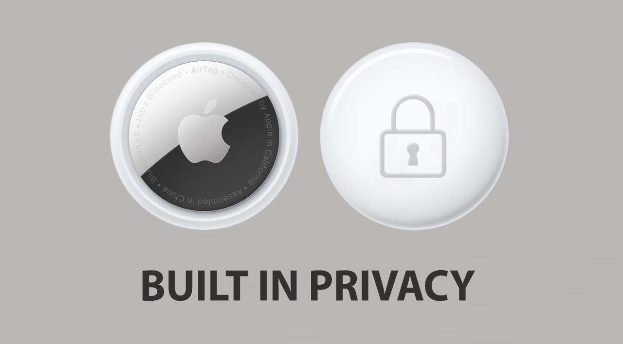 Privacy in all new Apple AirTags