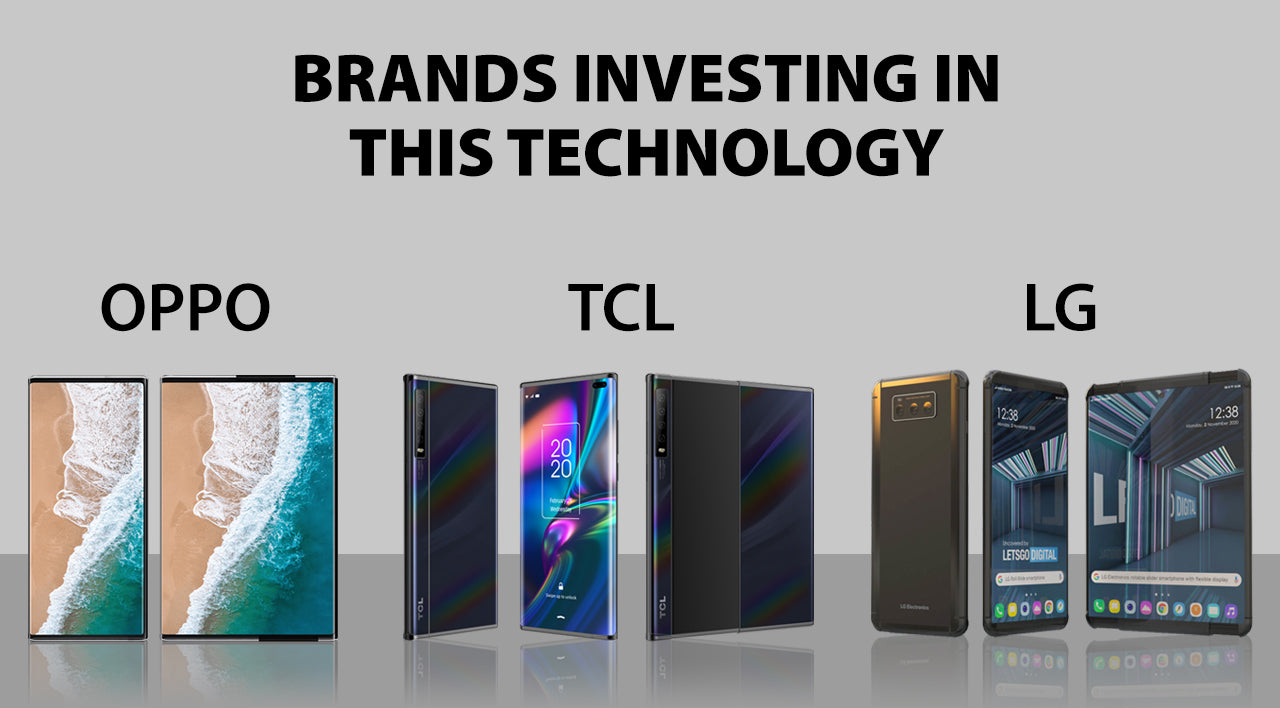 brands that are making rollable smartphones