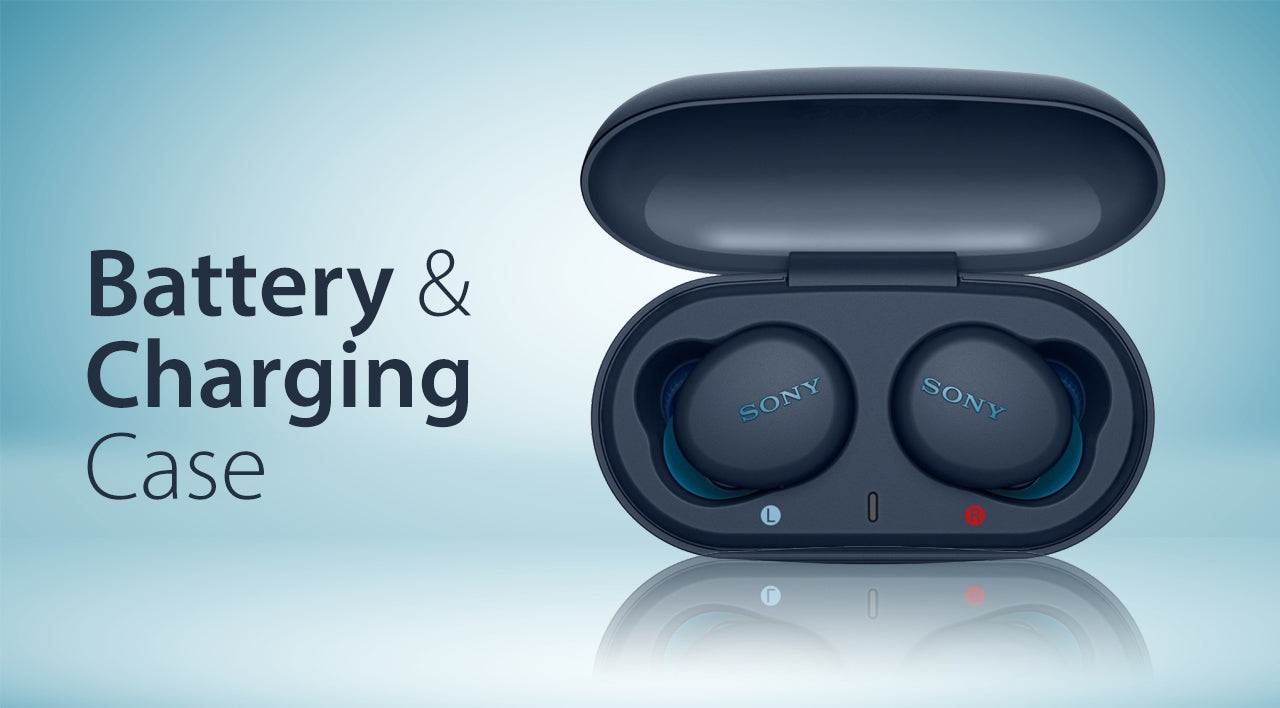 Importance of battery & charging case