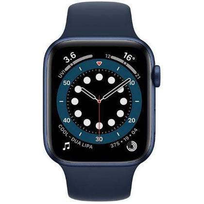 Apple Smart Watch Deep Navy Apple Watch Series 6, GPS 44mm Blue Aluminium Case with Sport Band