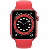 Apple Smart Watch Product Red Apple Watch Series 6, GPS+Cellular 44mm Product Red Aluminium Case with Sports Band (US Spec)