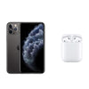 Apple Bundle Apple iPhone 11 Pro Max (256GB 4G LTE) + Apple Airpods 2019 With Charging Case