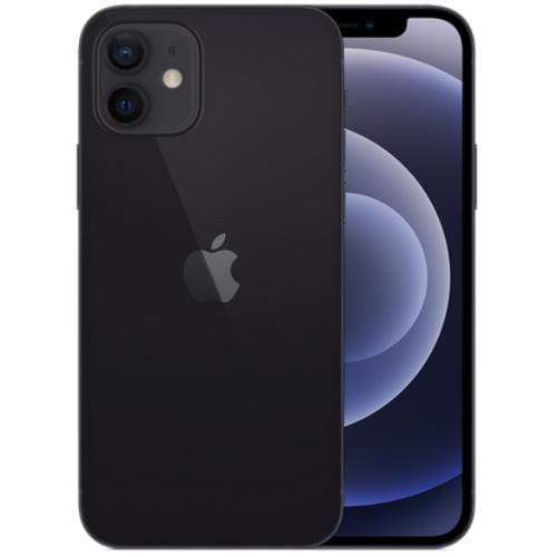 Apple Mobile Black Apple iPhone 12 (A2404 Dual SIM 256GB 5G)