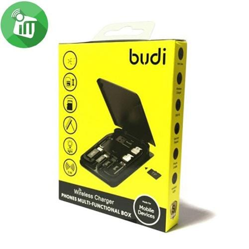 Budi 15W Wireless Charger - Phones Multi-Functional Box (Australian Stock)