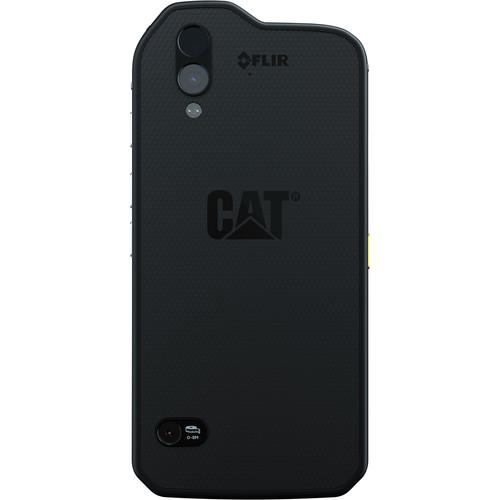 CAT S61 (64GB 4G LTE) Black - Back View