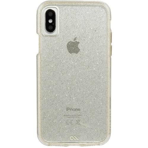 Case-Mate Original Accessories Sheer Glam Case-Mate Naked Tough Sparkle Effect Case for iPhone X/XS (Australian Stock)
