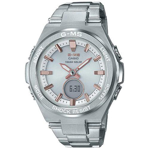 Casio Baby-G G-MS Watch MSG-S200D-7ADR Front Side View