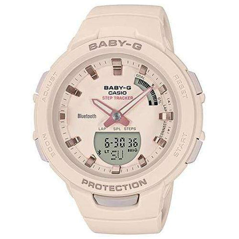 Casio Baby-G G-Squad Watch BSA-B100-4A1 - Front View