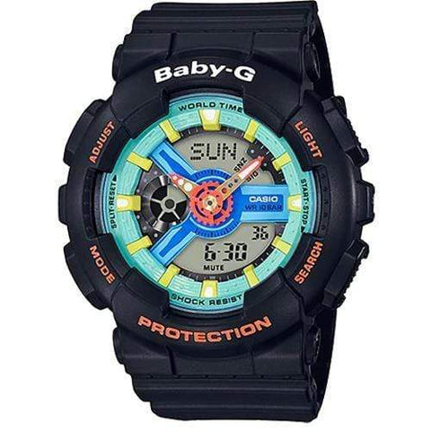 Casio Baby-G Watch BA-110NR-1ADR - Front View