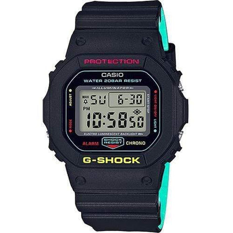Casio G-Shock Watch DW-5600CMB-1 - Front View