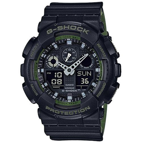 Casio G-Shock Watch GA-100L-1A - Front View