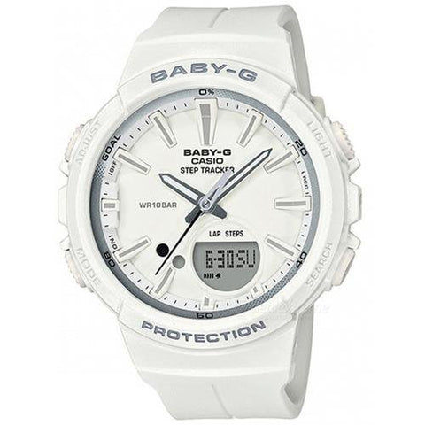 Casio Step Tracker Baby-G Watch BGS-100SC-7ADR - Front View
