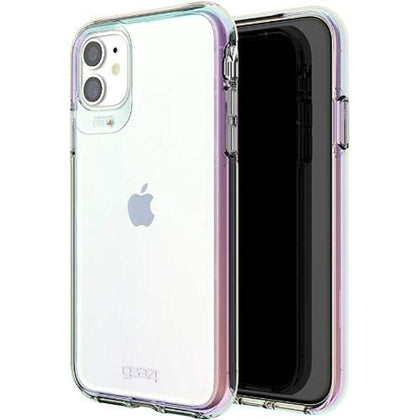Gear4 Original Accessories Iridescent Gear4 D3O Crystal Palace Case for iPhone 12 mini (Australian Stock)