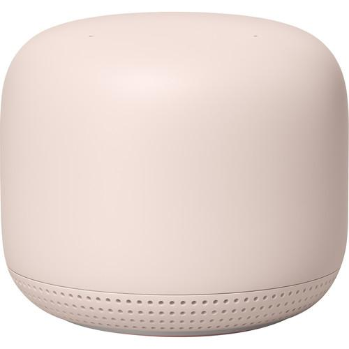 Google Nest Wifi Router and Point Sand -  Point only Front view