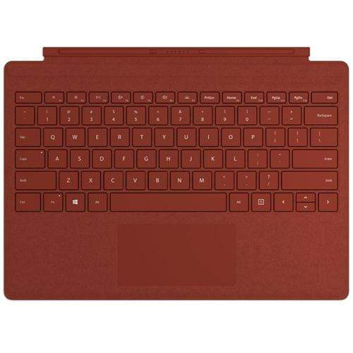 Microsoft Original Accessories Poppy Red Microsoft Surface Pro Signature Type Cover