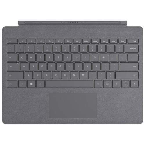 Microsoft Original Accessories Platinum Microsoft Surface Pro Signature Type Cover