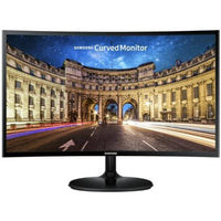 Samsung Monitor Black Samsung CF390 24-inch Curved Full HD Monitor (Australian Stock)