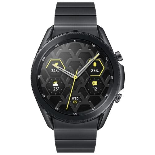 Samsung Smart Watch Mystic Black Samsung Galaxy Watch 3 (R840 45mm Titanium Case Bluetooth)