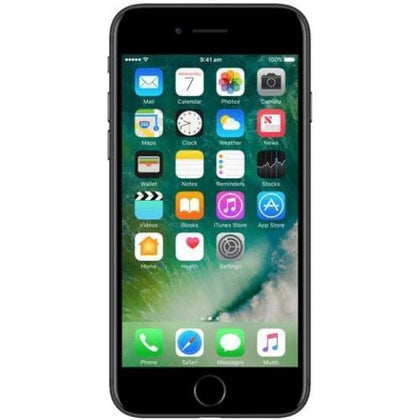Apple Mobile Black Refurbished Apple iPhone 7 (Australian Stock 32GB)