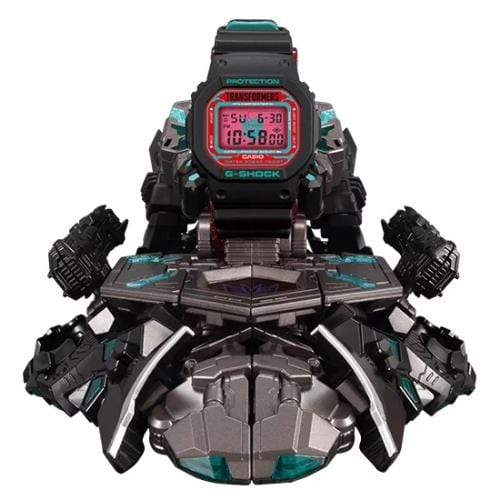 Casio G-Shock × Transformers Master Nemesis Prime Resonant Mode (with G-Shock) DW-5600TF19-SET