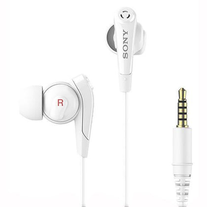 Sony Headphones White Sony MDR-NC31EM In-Ear Headset