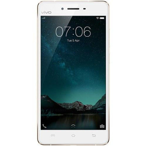 Vivo V3 Max A (32GB) Champagne Gold - Front View