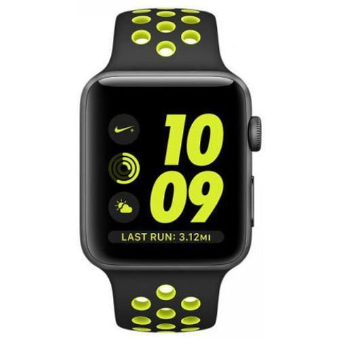 Smart Watch - Apple Watch Nike+, 38mm Space Grey Aluminum Case (with Nike Sport Band)