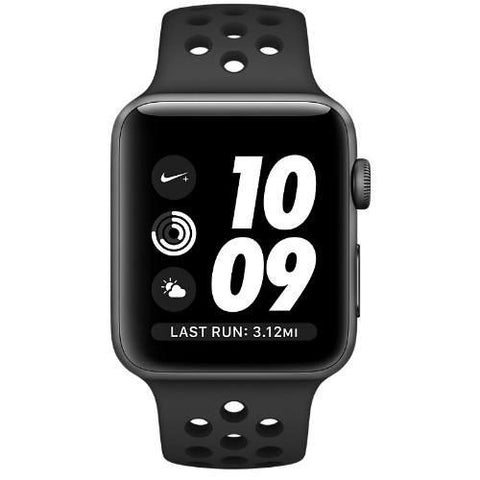 Smart Watch - Apple Watch Nike+, MQ182 42mm Space Grey Aluminum Case (with Anthracite Nike Sport Band)