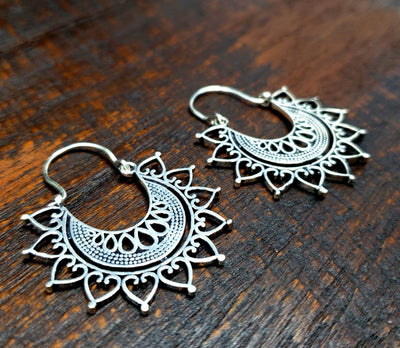 Celestial Mandala Earrings -- Culture Cross
