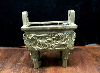 Chinese Temple Incense Burner -- Culture Cross