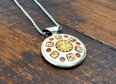 Eyes of the Buddha Pendant Necklace -- Culture Cross