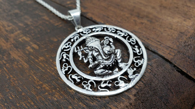 Ganesh Pendant Necklace -- Culture Cross