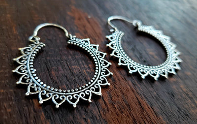 Khurai Earrings -- Culture Cross