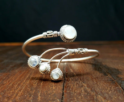 Moonstone Comet Bracelet -- Culture Cross