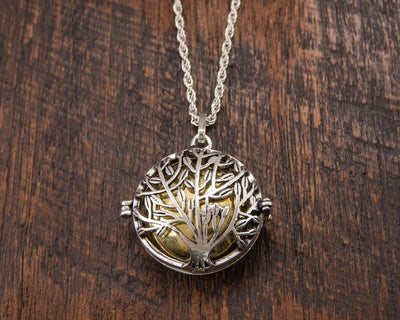 Tree of Life Harmony Bell Pendant -- Culture Cross