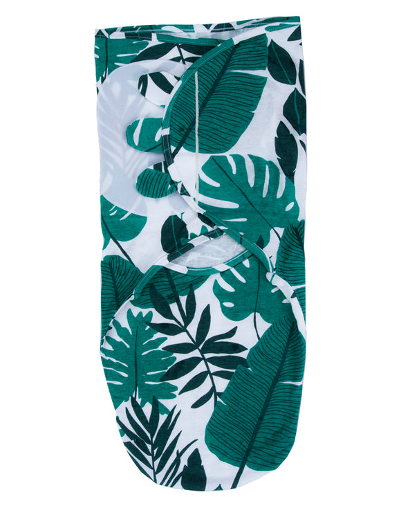 Palm leaf Velcro Swaddle Wrap