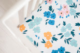 Summer Floral Crib Sheet